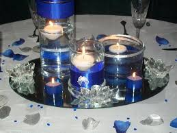 royal blue and silver wedding royal blue and silver wedding decorations photo via cobalt blue