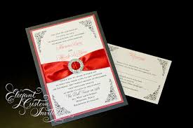 bling wedding invitations couture wedding invitations invitations