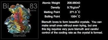 Bismuth Periodic Table Periodic Table Of Elements Project