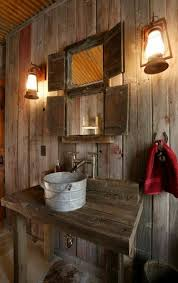 simple and rustic bathroom design for modern home rustic barn