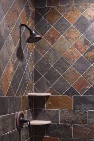 slate bathroom ideas shower for home slate shower cargillconstruction