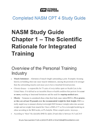nasm study guide chapter 7 u2013 flexibility training
