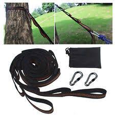 hammock tree straps ebay