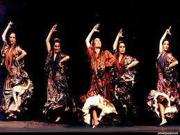 flamenco dancers people dance art print poster with 1024x768