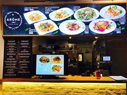 arome cuisine hungry ghost singapore food market atas food