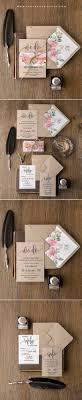 kraft paper wedding invitations best 25 kraft wedding invitations ideas on lavender