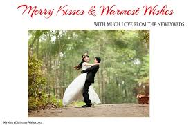 married christmas cards just married christmas cards for newlywed couples photos