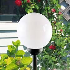 Bright Solar Landscape Lights 2pack 4led Bright Solar Globe Stake Light Set Sogrand Solar