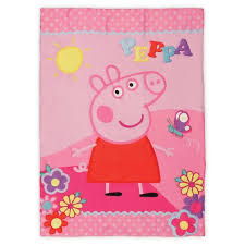 Peppa Pig Toddler Bed Set Peppa Pig 4 Pc Toddler Bed Set Pink Target
