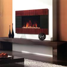 electric flat panel wall mount fireplace heater with led lights