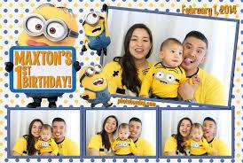 Minion Birthday Decorations Maxton U0027s Minion Themed 1st Birthday U2014 Photo Bomb