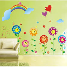 Decorate A Rainbow Kids Room Rainbow Wall Decal Sticker Home - Kids room wall decoration