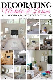 how to decorate rooms livelovediy how to decorate a living room 2 years of design flops