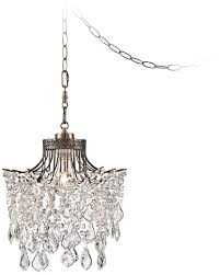 plug in hanging light fixtures interior cool swag lights that plug into the wall 3 in chandelier
