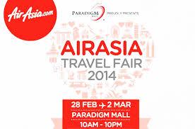 airasia travel fair airasia travel fair 2014 special deals
