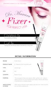 How To Curl Your Eyelashes Buy Etude House Etude House Dr Mascara Fixer For Perfect Lash