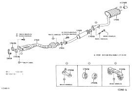 lexus is exhaust oem exhaust diagram lexus is forum