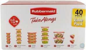 5 best rubbermaid takealongs assorted food storage container 40
