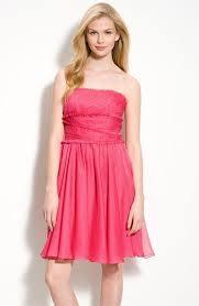 ml monique lhuillier bridesmaids ruffle chiffon dress nordstrom