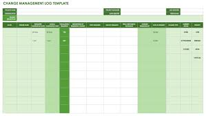 reporting requirement template free change management templates smartsheet ic change management log jpg