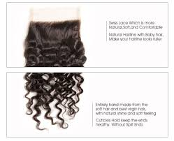 how to make soft hair unice curly hair weave 3 bundles with 4 4 lace