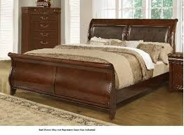 King Sleigh Bed Lifestyle 4116a Misk King Sleigh Bed Miskelly Furniture
