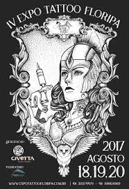 attending expo tattoo floripa 2017 brazil sanctus deus