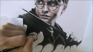 harry potter speed drawing