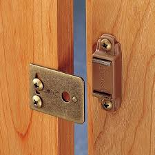 Cabinet Door Magnetic Latch 3 8 Inset Magnetic Catch Rockler Woodworking And Hardware