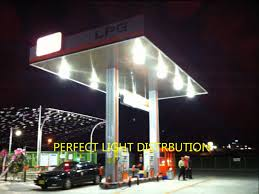 Gas Station Canopy Light Bulbs by Luxfine Led Canopy Light For Gas Station Hd Wmv Youtube