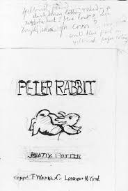 the tales of rabbit preliminary drawing for the tale of rabbit beatrix potter