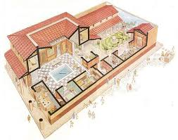 domus floor plan roman house domus with atrium and peristyle design anything