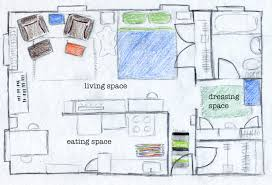 make a floorplan a living space it u0027s alive ing space ch ch ch changes