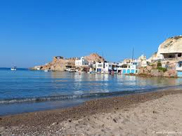 firopotamos village in milos picturesque fishing village with a