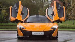 bright orange cars rare mclaren p1 experimental prototype up for grabs