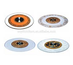 Glass Lazy Susan Turntable by New Deisgn Industrial Banquet Glass Lazy Susan Buy Lazy Susan