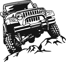jeep metal art jeep decal garage home decor wall hanging graphic design