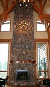 rustic stone fireplaces top fireplace home decoration ideas