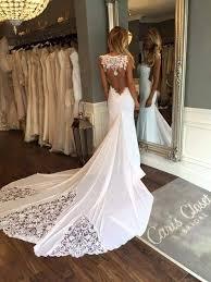 wedding dress open back cheap 2017 new sleeveless mermaid sheath formal wedding dresses