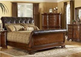 Black Leather Sleigh Bed Leather Sleigh Bed King Ideas Vine Dine King Bed Black Leather
