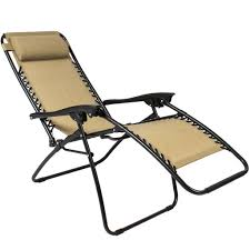 Folding Patio Chairs Zero Gravity Chairs Tan Lounge Patio Chairs Folding Outdoor Yard