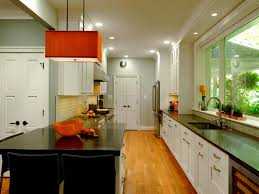 Small Galley Kitchen Storage Ideas by Kitchen Cabinets White Cabinets And Black Countertops Small