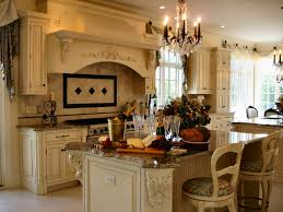kitchen design ideas classic ivory distressed cabinet tuscan