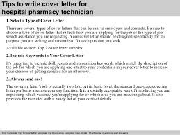 Pharmacist Resume Cover Letter Splendid Design Inspiration Cover Letter For Pharmacy Technician