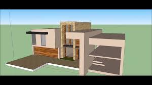 modern home design design google sketchup modern house design build timelapse youtube