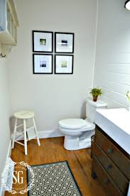 Powder Room Makeover Ideas Planking A Wall The Easy Way Stonegable