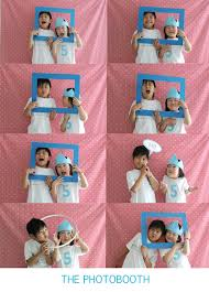 Homemade Photo Booth J U0027s 5th Birthday Party Shim Sons