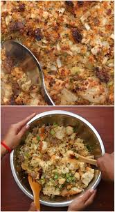 make stuffing day before thanksgiving tia mowry made her legendary cornbread stuffing for us and it u0027s