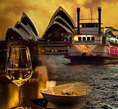 dinner cruise sydney sydney harbour cruises aboard sydney showboat
