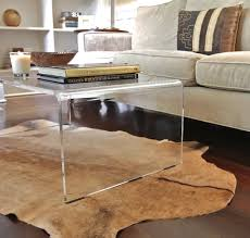 Clear Coffee Table Lucite Coffee Table Beautiful Interior Exterior Homie Lucite